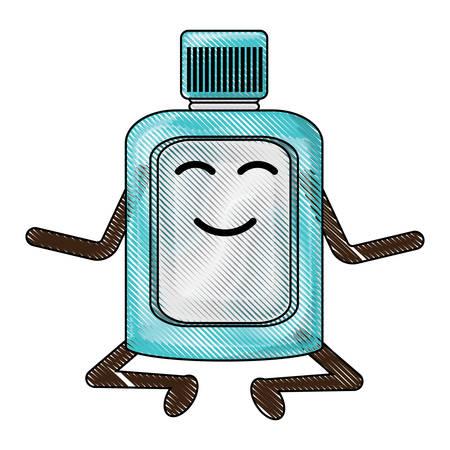 kawaii mouthwash icon