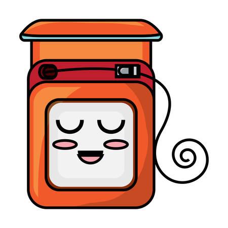dental floss icon Vector illustration.