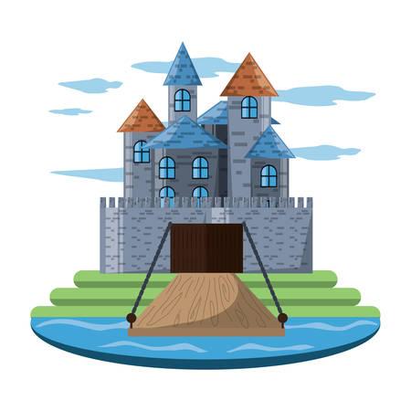 Medieval castle design Reklamní fotografie - 94016815