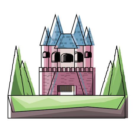 Princess castle icon