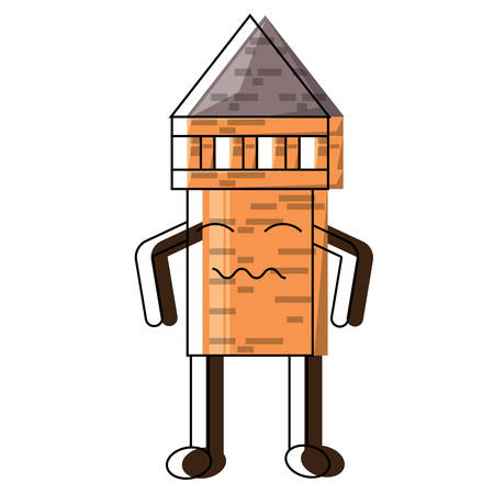 Tower pencil icon image