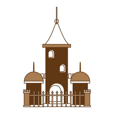 church building icon Illustration