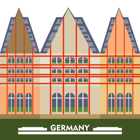 Germany design concept Illustration