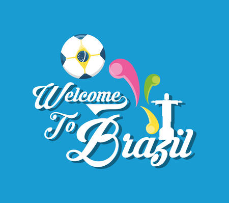 Welcome to brazil design Imagens - 94046030