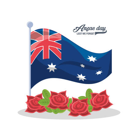 Anzac day  pattern design Vettoriali