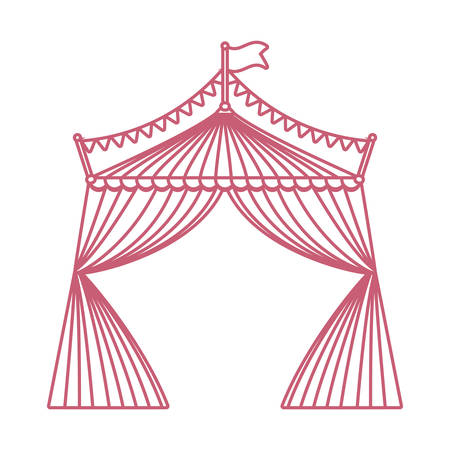 Circus tent icon image
