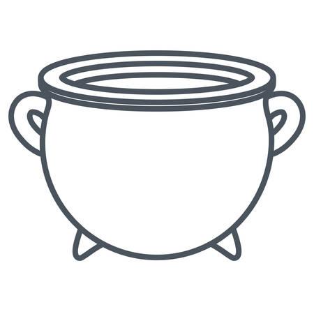 Irish pot design Illustration