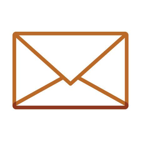 Envelope icon image Illustration