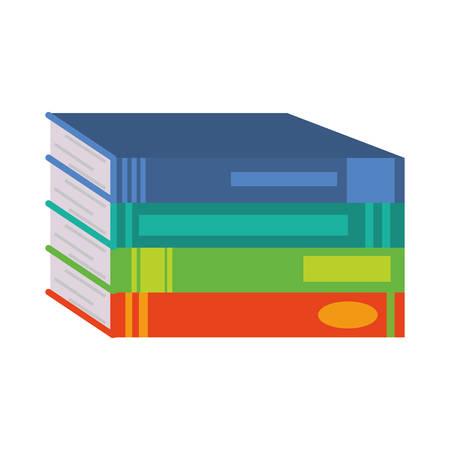 Pile of books design