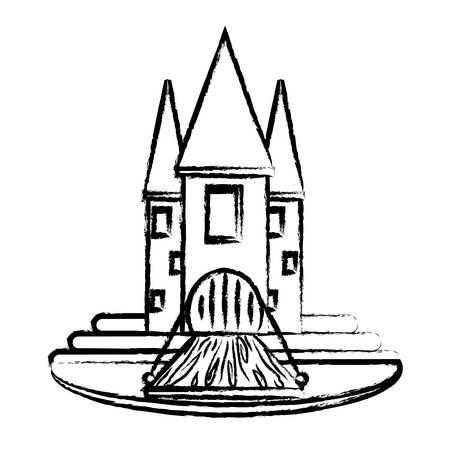 Medieval castle icon image