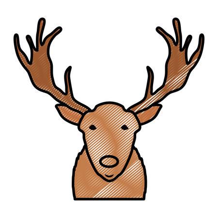 Cartoon deer icon image