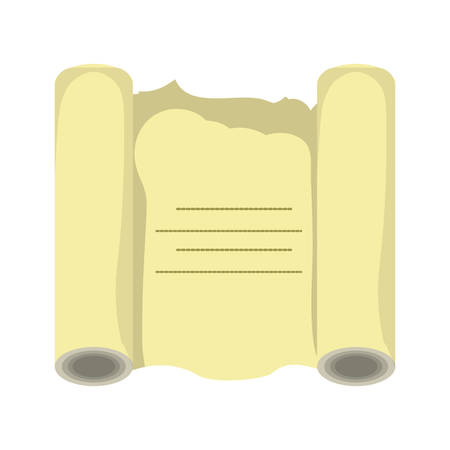 old paper roll icon