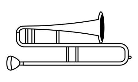 Musical intruments design Illustration