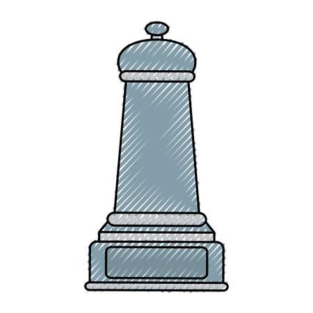 pawn piece icon Illustration