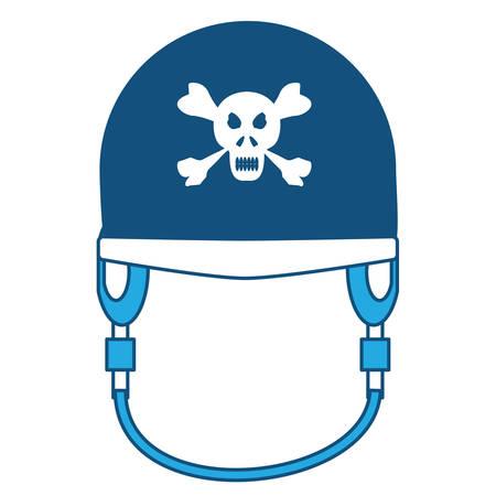 Motorcycle helmet icon Stock Illustratie