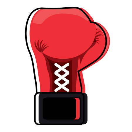 Boxing gloves design Vectores