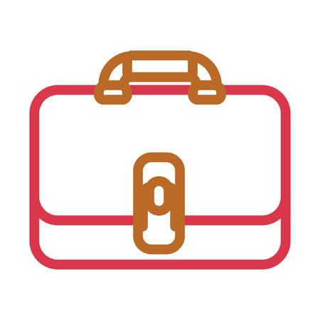 Briefcase vector illustration