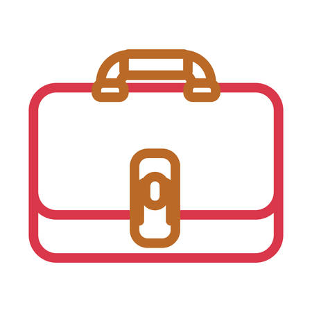 Briefcase vector illustration