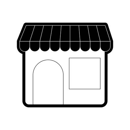 Store vector illustration Çizim