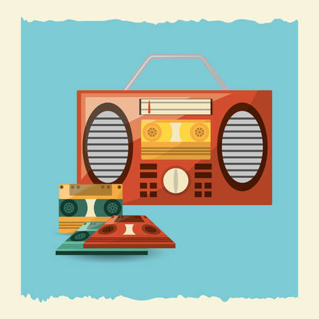 Retro music design