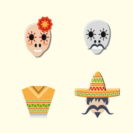 Mexican culture design Foto de archivo - 95898283