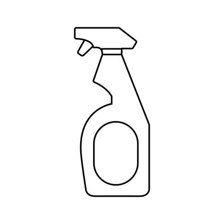 Cleaning supplies design.