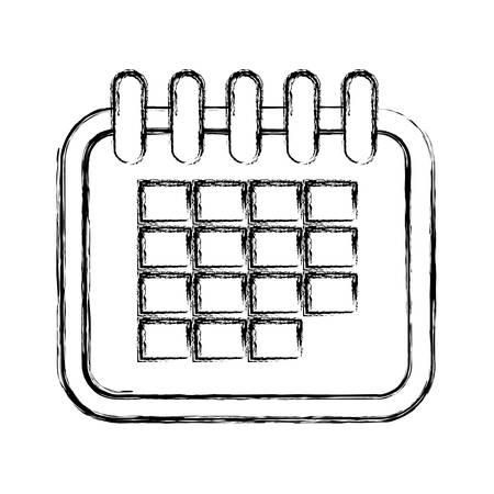 Calendar vector illustration.