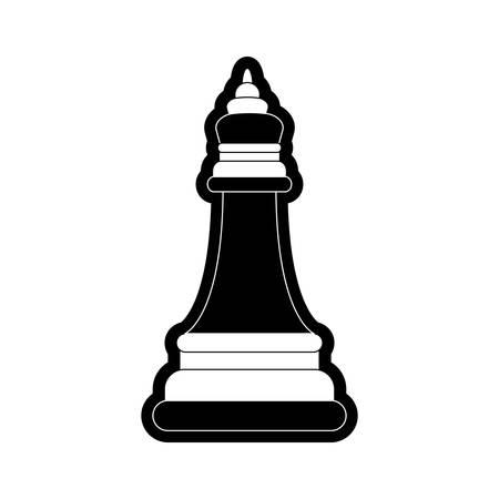 Bishop vector illustration