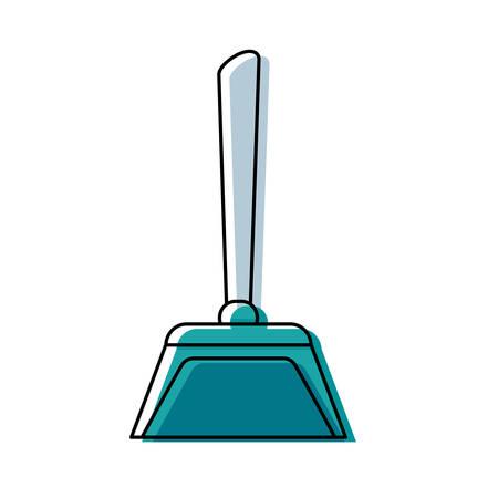 dustpan vector illustration