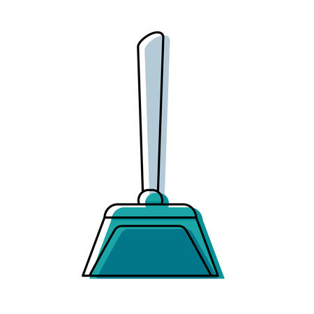 dustpan vector illustration