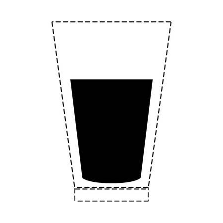 A glass with juice icon