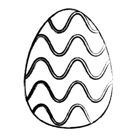 Easter eggs design Ilustrace