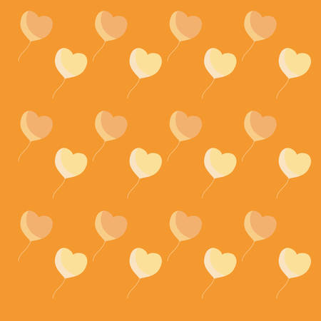 hearts background, colorful design vector illustration icon