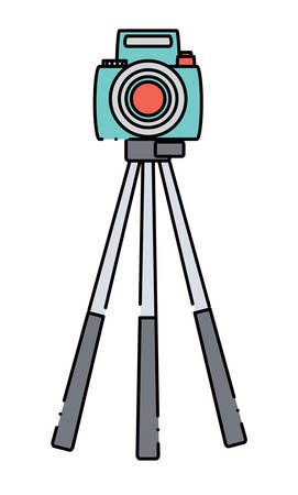 Camera on the tripod icon