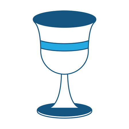 Holy grail icon over white background vector illutration