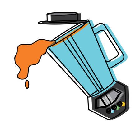 Juice splashing from blender design