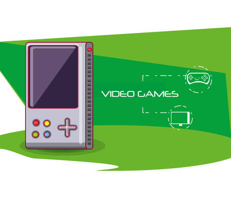 video game portable icon vector illustration design
