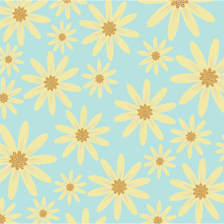 floral background, colorful design vector illustration icon