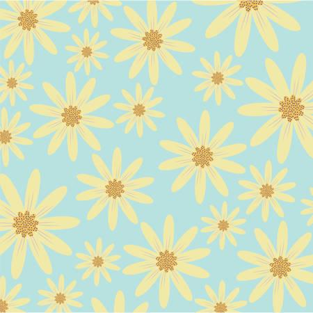 floral background, colorful design vector illustration icon