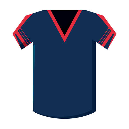 Football jersey icon Stock Illustratie