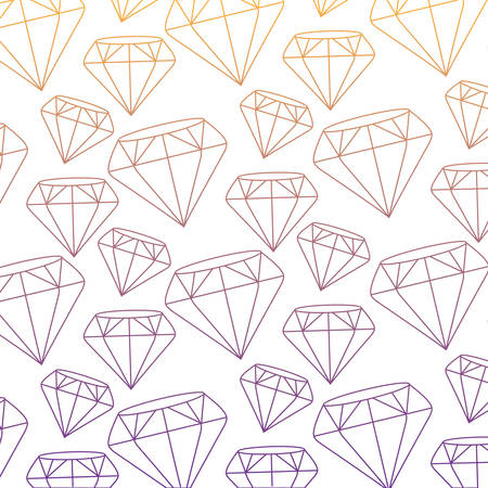 background of diamonds, colorful design.  vector illustration