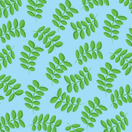 background of leaves pattern, colorful design. vector illustration
