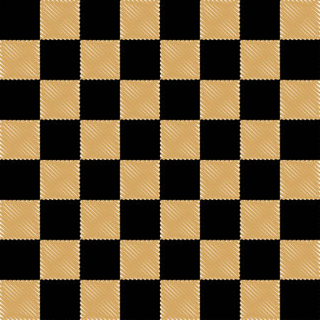 chessboard background, vector illustration