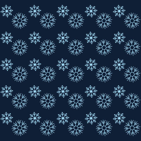 winter snowflakes background, colorful design. vector illustration