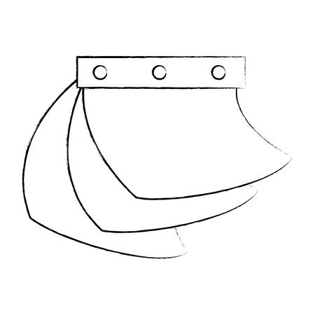 calendar icon over white background, vector illustration Stock Illustratie