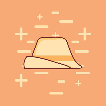 traditional german hat icon vector illustration design
