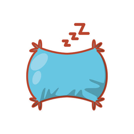 pillow cushion isolated icon vector illustration design