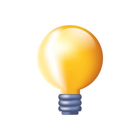 light bulb isolated icon vector illustration design 向量圖像