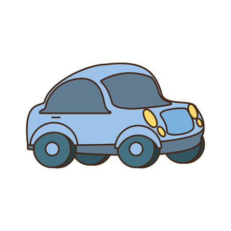 little car isolated icon vector illustration design