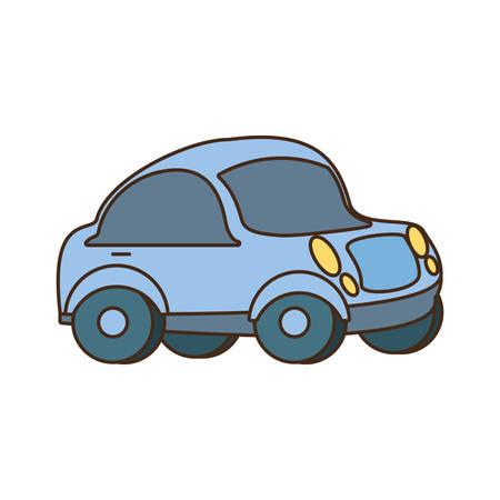 little car isolated icon vector illustration design
